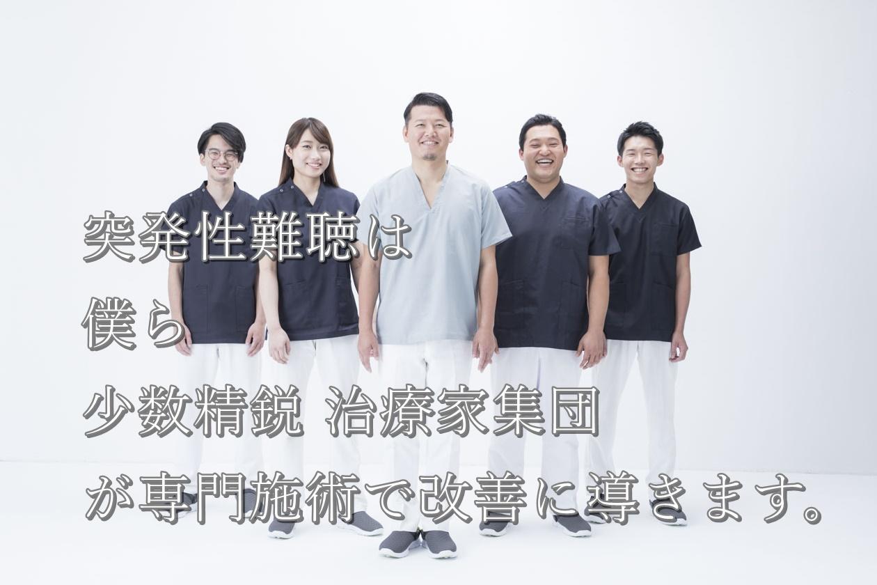 東生駒駅前、鍼灸王国の突発性難聴メインビジュアル